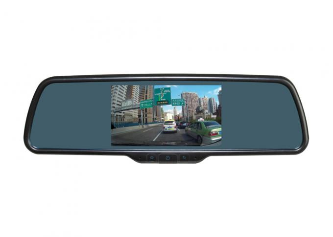5 inch Rear view mirror monitor with DVR and GPS Navigation with Android os system