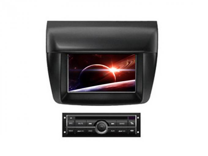 Double din car dvd player with screen radio gps for mitsubishi l200 triton
