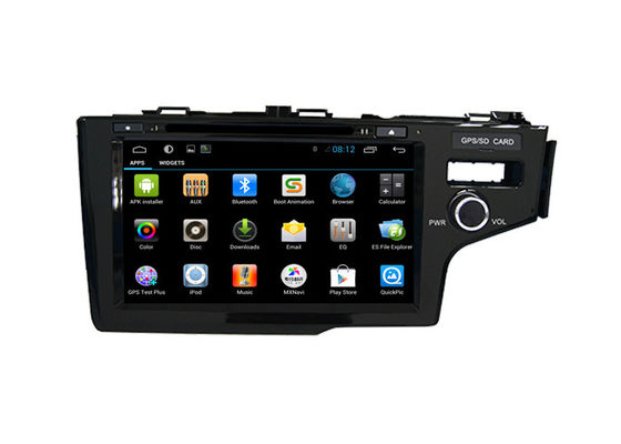 চীন Android Car Radio GPS Multimedia Honda Navigation System Fit 2014 Right DVD Player সরবরাহকারী