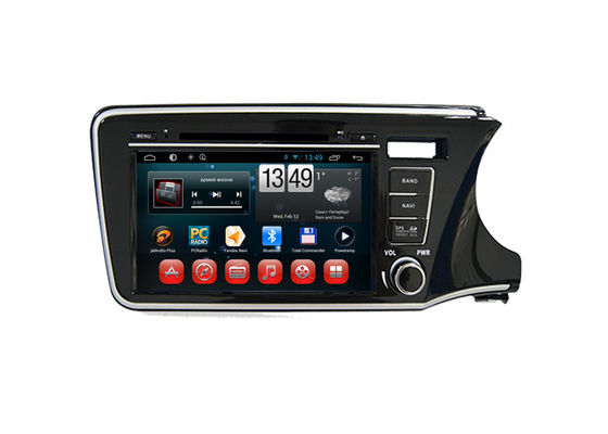 Android Radio Bluetooth Dvd Player Honda Navigation System for City 2014 Right Hand