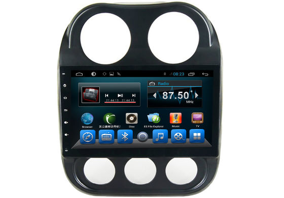 চীন JEEP 2016 Quad Core Central Multimidia GPS Car Audio Player Android 4.4 System সরবরাহকারী
