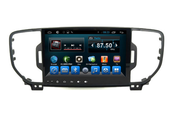 চীন Sportage 2016 Car Stereo Dvd Player Kia Central Multimedia Navigation System সরবরাহকারী
