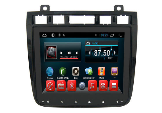 চীন Android 6.0 Auto VW Double Din Gps Radio , Dvd Gps Car Stereo Touareg 2010-2016 সরবরাহকারী