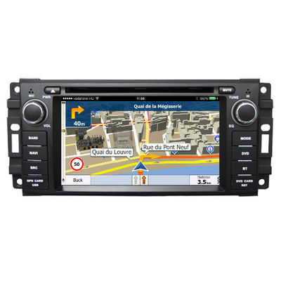 চীন 6.2 Inch Touch Screen Car Radio Dvd Player / Dvd Gps Navigation System For Jeep সরবরাহকারী