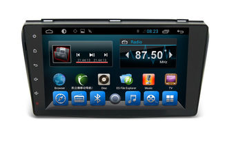 চীন Android 6.0 Double Din Navigation Bluetooth , Multimedia Car Navigation System Mazda 3 2004-2009 সরবরাহকারী