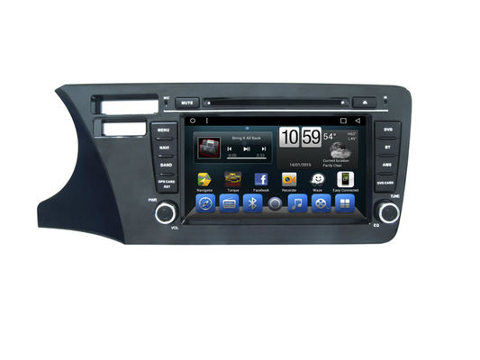চীন Honda City Car Dvd Gps Multimedia Navigation System Support Mirrorlink IGO GOOGLE সরবরাহকারী