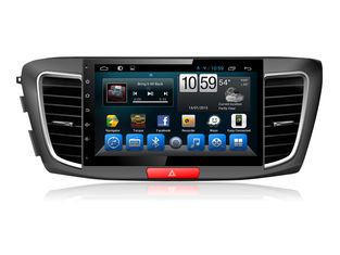 চীন Honda Accord 2015 2016  car multimedia gps navigation System Android quad core DVD সরবরাহকারী