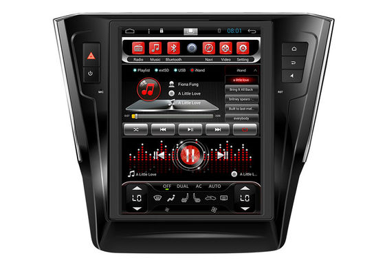 চীন Vertical Screen VW VOLKSWAGEN GPS Navigation System Indash Multimedia VolksWagen Passat সরবরাহকারী