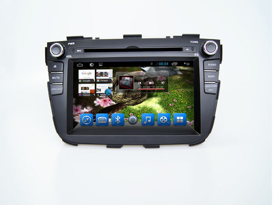 চীন Android 4.4 2din GPS KIA Sorento DVD Player Bluetooth with Navigation সরবরাহকারী