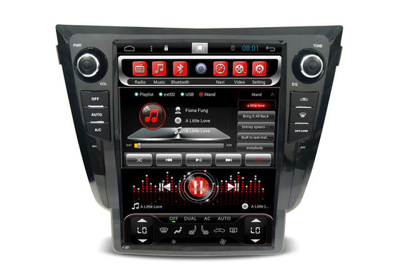 Tesla Screen Radio Receivers Nissan Car Navigaion Qashqai X - trail Dualis 2013