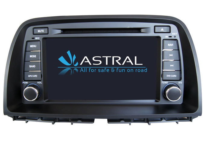 2 Din DVD Radio Android Car GPS Navigation Mazda CX-5 2013 Quad Core