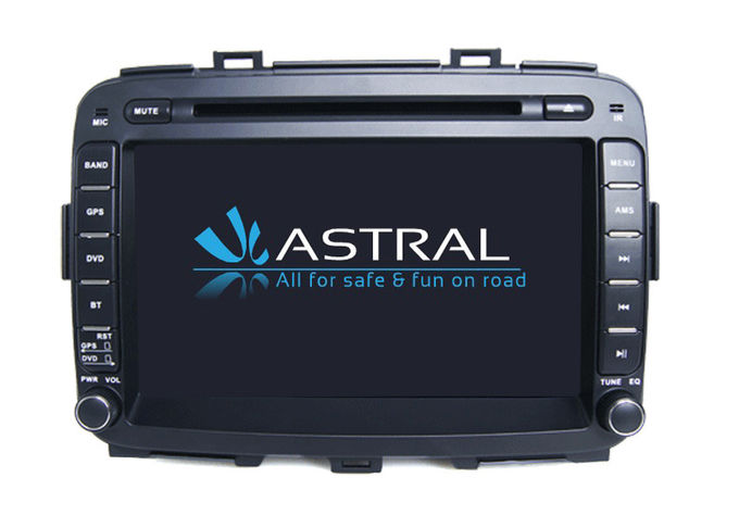 Carens Android Car Stereo KIA Navigation System Capacitive Quad Core